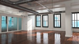 toronto studio with hardwood resurfacing work