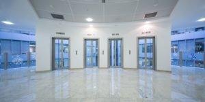 shiny office floors